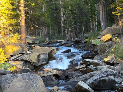 First camp along Piute Creek