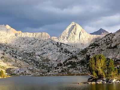 Mt Spencer (12431ft) http://en.wikipedia.org/wiki/Mount_Spencer_(California)