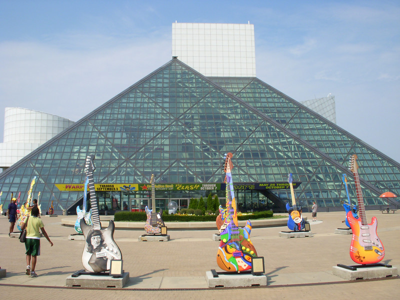 I like this shot of Rock Hall.  Very cool building.