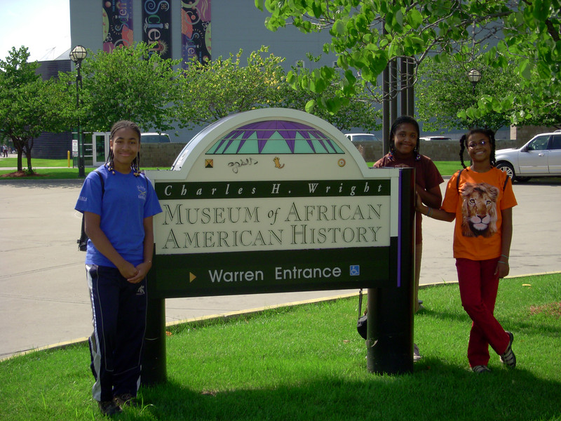 After church on Sunday, the girls and I checked out this museum.  It's the largest of its kind in the US.