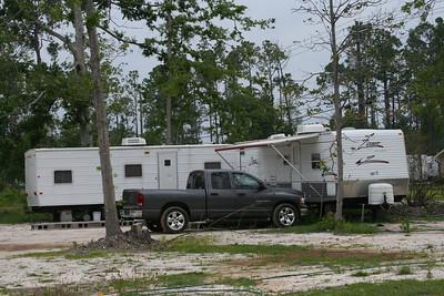 Sally's neighbors live in trailers