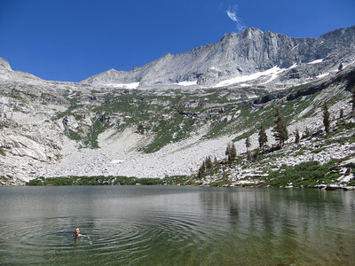 Swim in Tamarack Lake
