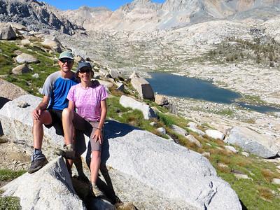 Kaweah Gap (10,700' or 3261 meters)
