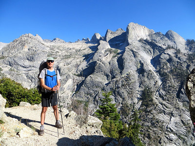 The views on the High Sierra Trail are outstanding
