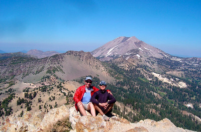 Summit of Brokeoff Mountain (view of Lassen)