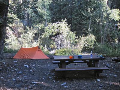 Acclimatization at the trailhead camp
