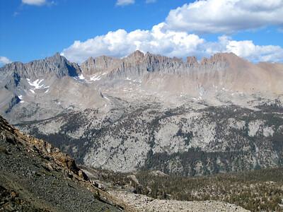 First views of Kaweah range