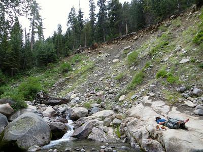 Nap at Cliff Creek