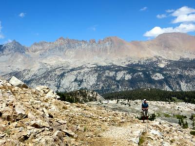 Over Black Rock Pass (11600 ft)
