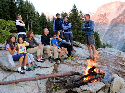 Guests at Bearpaw High Sierra Camp