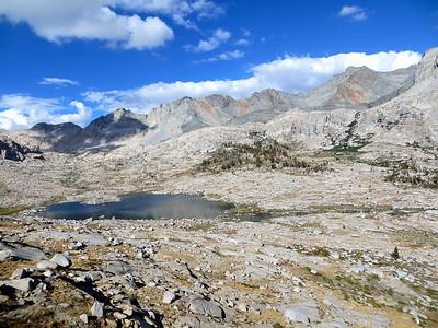 View from Kaweah Gap at 10,700' (3261 meters)
