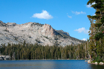 May Lake (short drive from Tuolumne Meadows), Sept 06