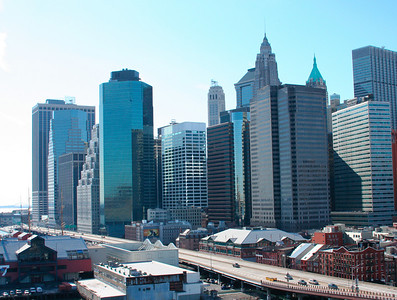great view of downtown Manhattan's skyline,