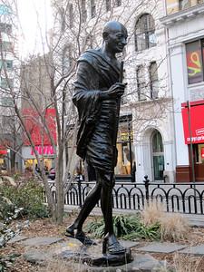 Statue of Gandhi at Union Square
