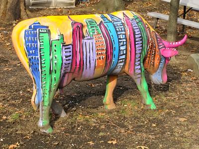 Cow in Brooklyn