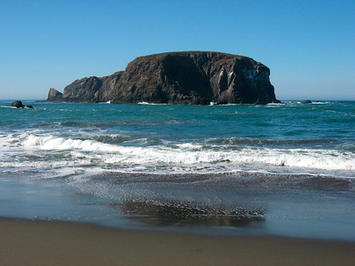 Whale rock (Oregon coast)
