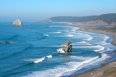 View from Cape Blanco