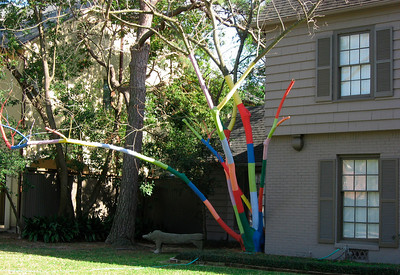 Art in River Oaks (wealthy area of Houston)