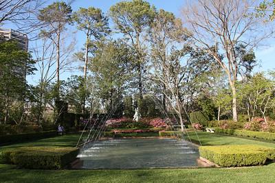 Diana garden @ Bayou Bend Gardens  http://www.mfah.org/bayoubend/home.asp?par1=1&par2=1&par3=1&par4=1&par5=1&par6=1&par7=&currentPage=