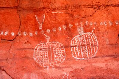 Peek-a-Boo trail (petroglyphs)