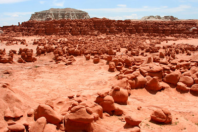 Overview of Goblin Valley