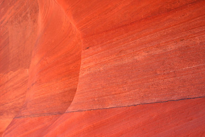 Red colors of Buckskin Gulch