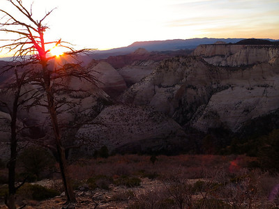 Sunset at Camp 5 (West Rim trail)
