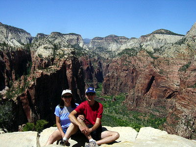 On top of Angels Landing (2003)
