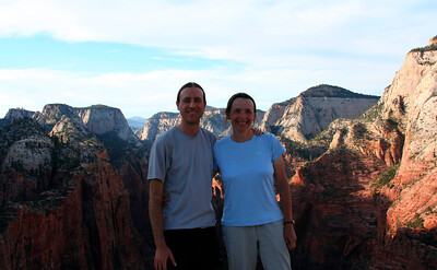 On top of Angels Landing (2005)