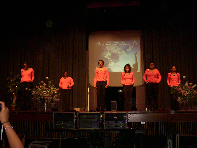 Philly performance at Women's Day