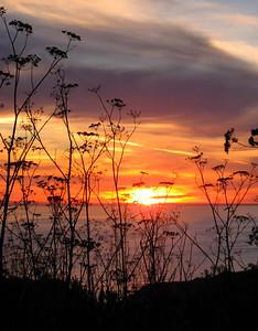 Sunset on Christmas day 2006