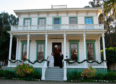 The historic Hope House, built in 1875 by Thomas Hope. Scheduled for demolition in 1967, the home was acquired by Vivian and George Obern, and refurbished. Dale and Greg Hoeffliger, daughter and son-in-law of the Oberns, reside in the home now.