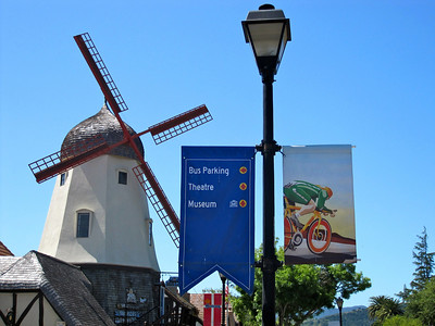 Solvang is getting ready for the Tour of California