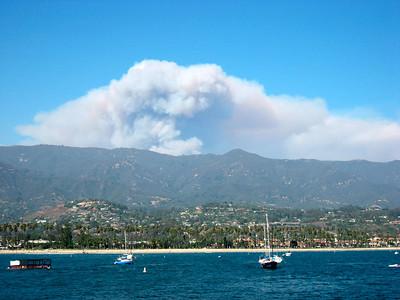 Zaca fire (August 2007)