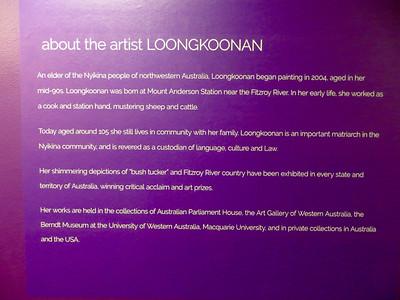 Exhibit at Embassy of Australia