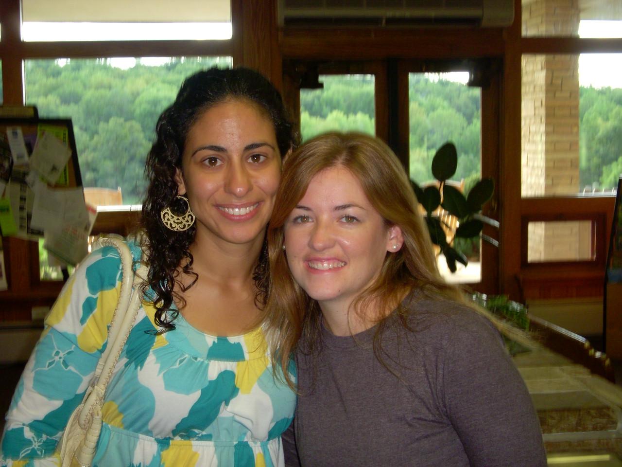 Maral and Megan