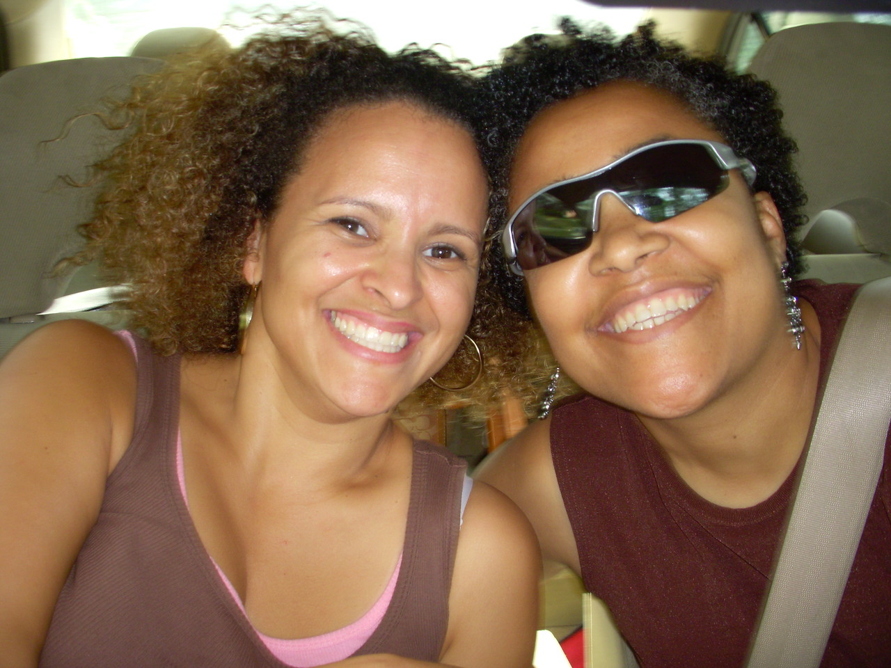 Road trip!!  I was blessed to have Candice as my roomie and traveling buddy.