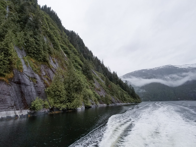 Waterways around Ketchikan, Alaska.