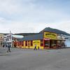 Streets of Skagway, Alaska.