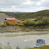 Scenery across from the Maclaren Lodge, on the Maclaren River, Gakona, Alaska.