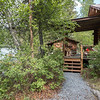 A cabin in Cooper Landing, Alaska.