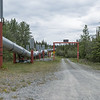 The Alyeska (Alaska) Pipeline in Copper Country, Alaska.