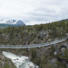 The Yukon Suspension Bridge outside Skagway, Alaska, but in B.C.