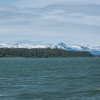 Natural beauty of Alaska as seen in Auke Bay, Juneau, Alaska..