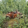 Abandoned vehicle near Gold Dredge 8, Fairbanks, Alaska.