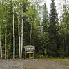 Cooper Landing Historical Cemetery in Cooper Landing, Alaska.