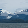 Natural beauty of Alaska as seen in Auke Bay, Juneau, Alaska.