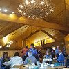Breakfast at Eagle's Crest Resturant before leaving for Anchorage, Alaska.