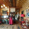 A look inside the Red Onion Saloon's Historic upstairs brothel in Skagway, Alaska.