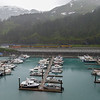View of the private docks from the Star Princess while docked in Whittier, Alaska.